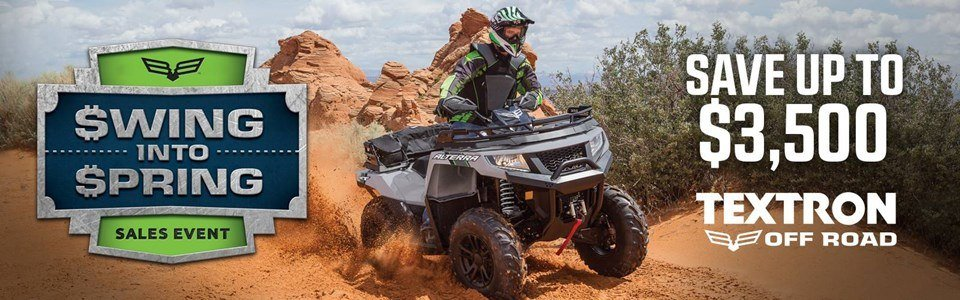 Arctic Cat - Swing Into Spring - 2015-2017 Off-Road Models